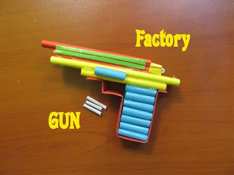 How to Make a Paper Solid Airsoft Gun - Easy Tutorials