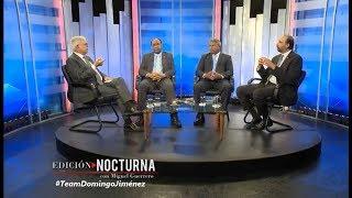 Entrevista de panel a Domingo Jiménez, Henry Merán y Elpidio Báez #CDNEdición Nocturna 22.5.2019