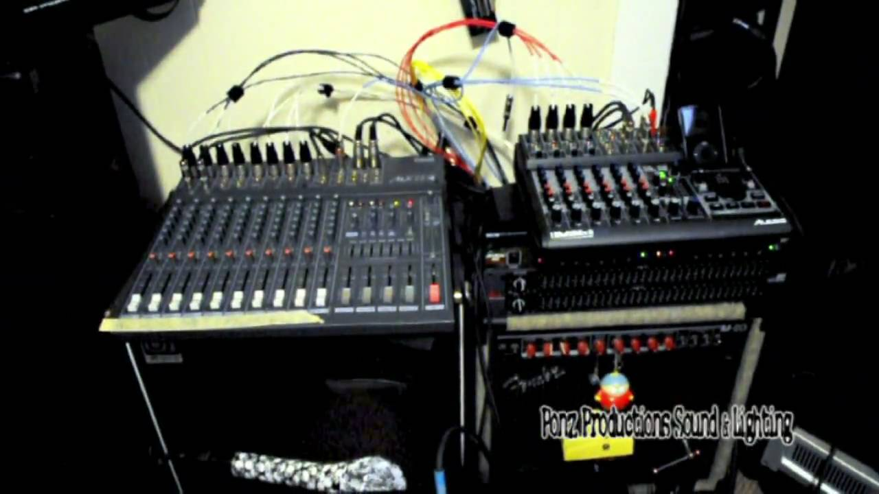 Intro to Mixer and Basic live sound setup Pt 61: Stage