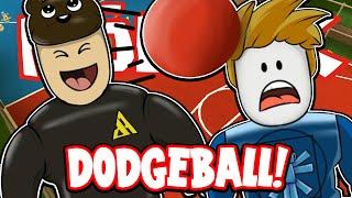 SquiddyPlays - DODGEBALL! - Roblox W/AshDubh!