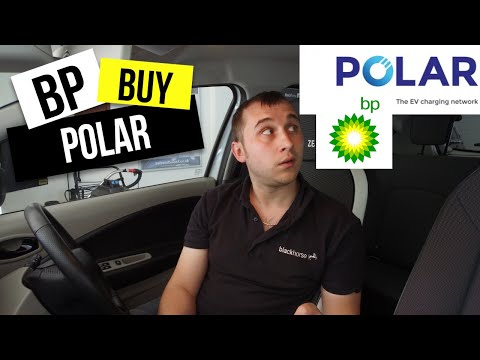 BP buy chargemaster which owns polar the largest UK charging network 🔌🔋🚗
