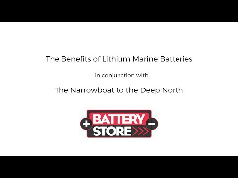 Lithium Batteries in a Narrowboat