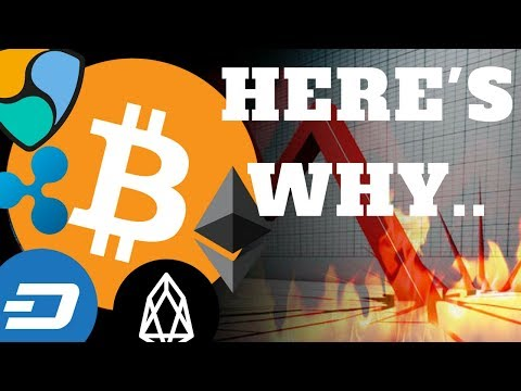 BITCOIN & CRYPTO JANUARY MARKET CRASH EXPLAINED 2018