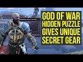 God of War Tips - Secret Puzzle Unlocks UNIQUE GEAR (God of War Best Gear - God of War 4 Best Gear)