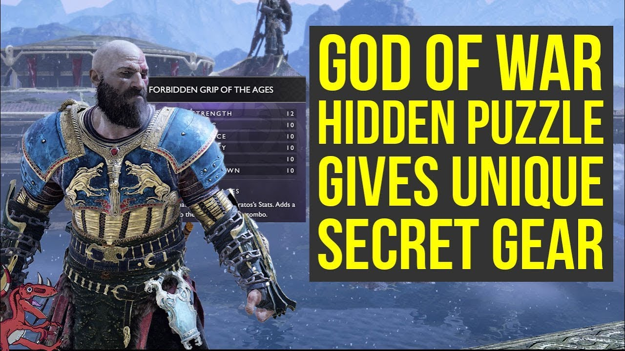 God of War Tips - Secret Puzzle Unlocks UNIQUE GEAR (God of War Best Gear -  God of War 4 Best Gear)