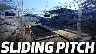 SPURS NEW STADIUM | SLIDING PITCH UPDATE