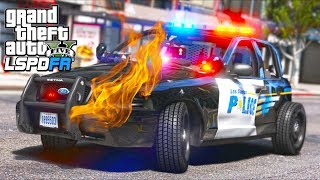 Patrolling with EXTREME Damage Mod... GONE WRONG!! (GTA 5 Mods - LSPDFR Gameplay)
