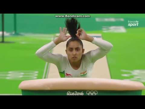Dipa Karmakar IND Qual VT Olympics Rio 2016