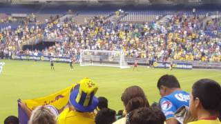 Penalties from Santos Laguna and Club América in Alamo Dome at San Antonio!