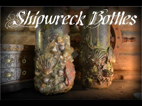 DIY Shipwreck Bottle