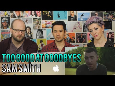 SAM SMITH - Too Good at Goodbyes - REACTION!!