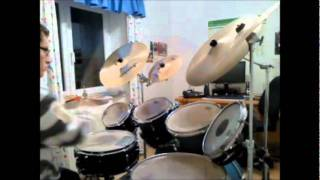 We Came Here To Rock.Saxon.Drum Cover
