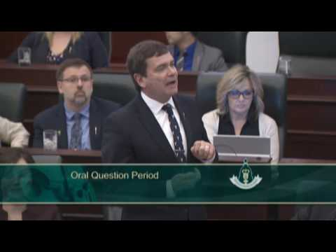 MLA Ric McIver - QP: Alberta Job Losses under the NDP Government