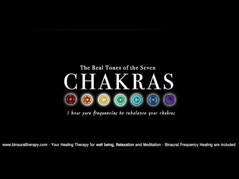 The Seven Chakras Binaural Balancing - 1hour pure ascending frequencies to rebalance your Chakras