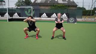 Fortitude Hockey Goalkeeping - Dynamic Warm Up - Dynamic Stretches