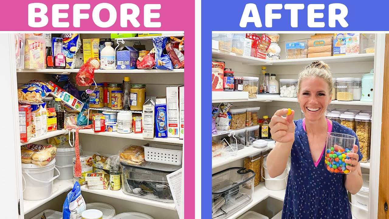 Organize With Me! PANTRY MAKEOVER
