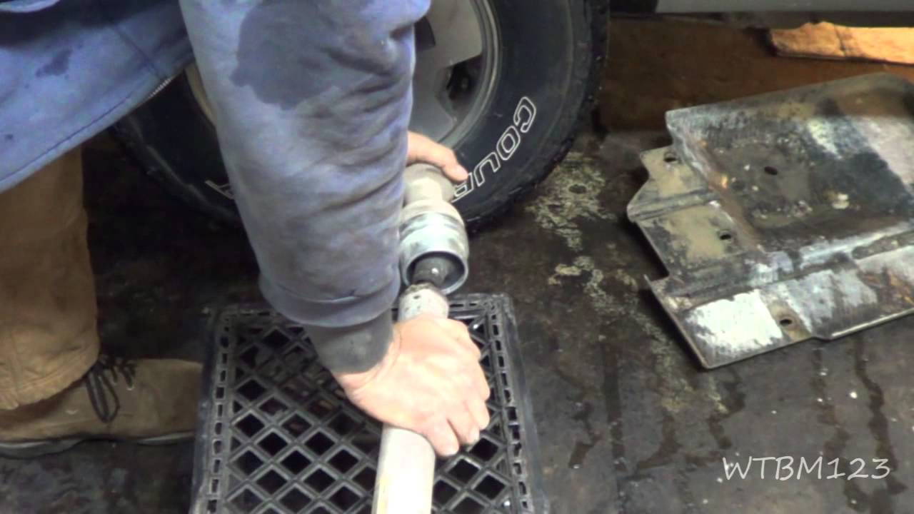 Chevy Blazer, Front Driveshaft Noise - YouTube