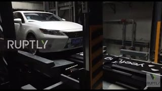 china first ever robotic parking garage opens in nanjing