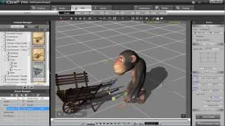 iClone 5 Tutorial - Human IK & Path Constraint in MotionPlus