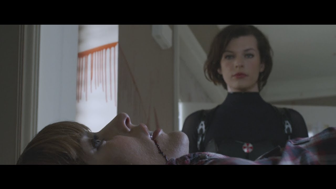 Resident Evil Retribution 3d Alice Clone Scene Hd Youtube