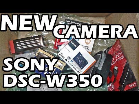 NEW CAMERA SONY CYBERSHOT DSC - WX350