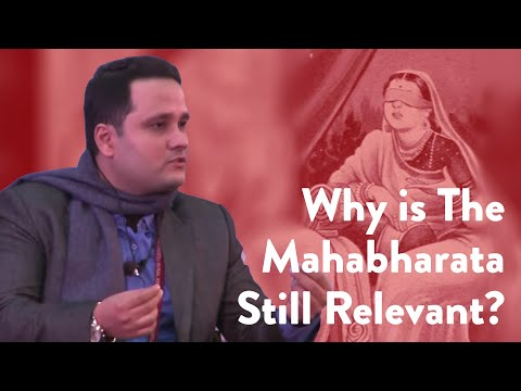 #JLF 2015: The Conflict of Dharma in the Mahabharata