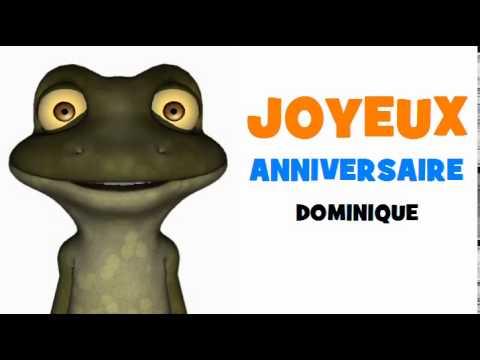 Joyeux Anniversaire Dominique Youtube