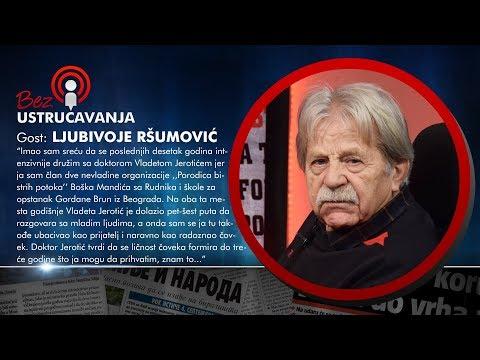 BEZ USTRUČAVANJA - Ljubivoje Ršumović: Mnogi su zloupotrebljavali decu u političke svrhe!