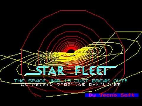 Star Fleet (1982) for the Sharp X1