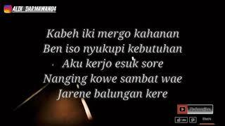 Lirik Lagu Ndarboy Genk - Balungan Kere