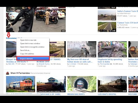 How to Remove Recommended Videos in Youtube Without Sign In