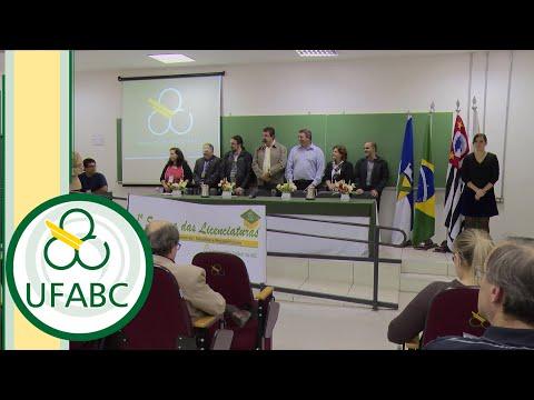 UFABC EVENTOS - I Semana das Licenciaturas UFABC (dia 1)