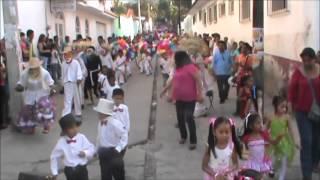 Quechultenango, Guerrero. Pendón Inicio del Carnaval en Colotlipa 2014