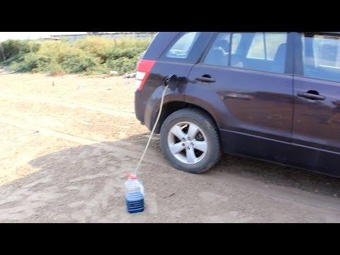 Как слить бензин из бака автомобиля