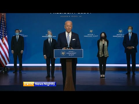 Presumptive President-Elect Joe Biden Introduces His New National Security Team | EWTN News Nightly