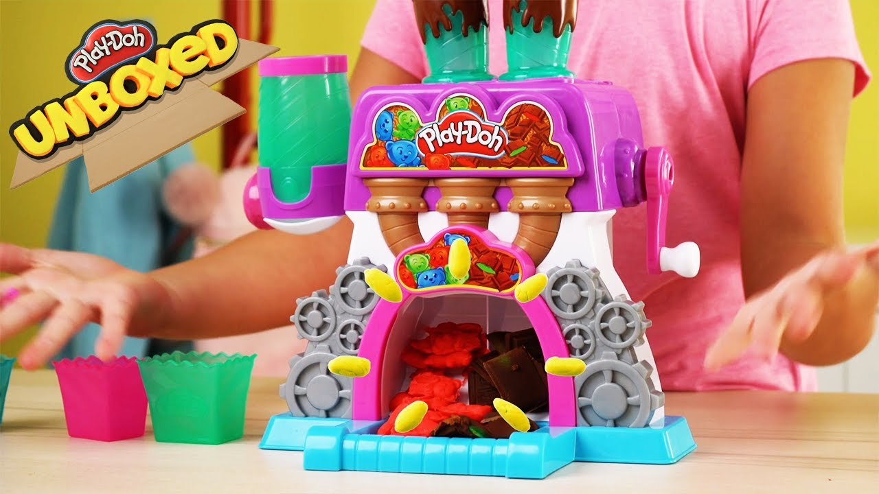 Official Play-Doh How-To Videos | Candy Delight | Play-Doh Unboxing