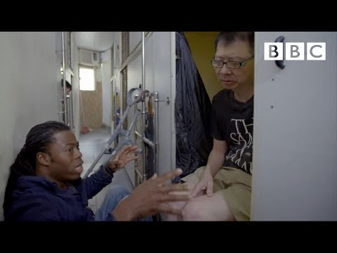 People living in tiny spaces - Hong Kong: World's Busiest Cities | BBC Two