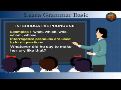 Pronoun | | Learn Grammar Basic | Cartoon World