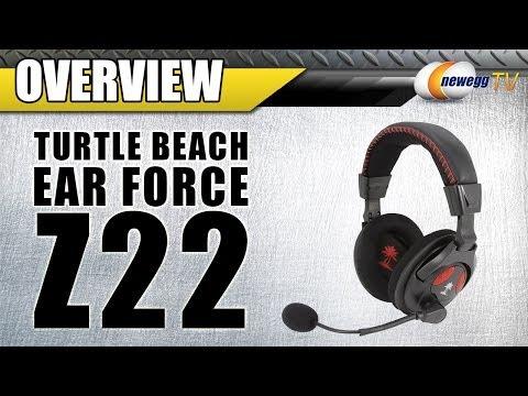 Turtle Beach Ear Force Z22 USB Connector Circumaural Headset Overview - Newegg TV