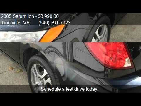 2005 Saturn Ion 3 for sale in Troutville, VA 24175 at Speedy