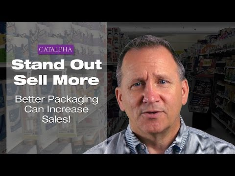 Stand Out. Sell More - Better Packaging Design Can Increase Sales!