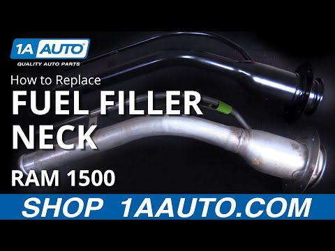 How to Replace Fuel Tank Filler Neck 04-08 Dodge Ram