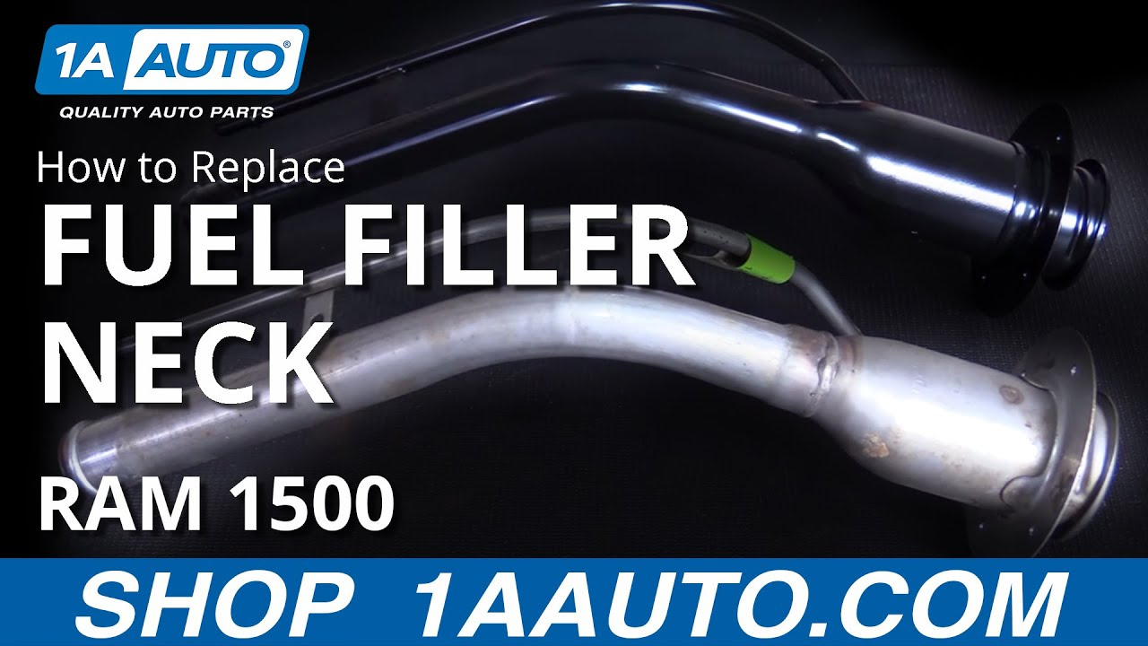 How to Install Replace Fuel Tank Filler Neck 200408 Dodge