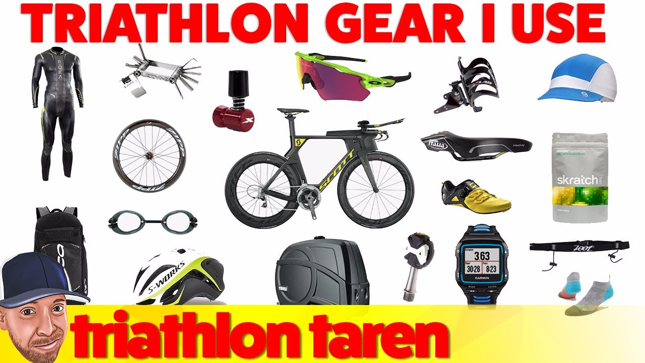 Triathlon Gear that I Use
