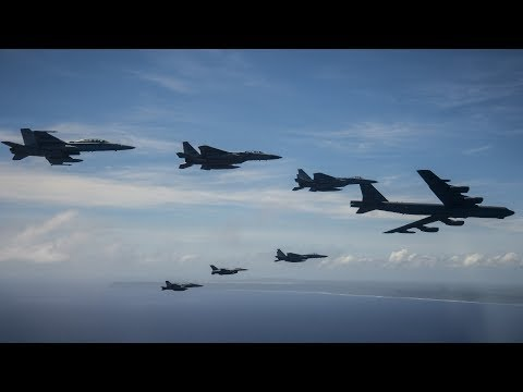 US, Australian & Japanese Formation Flight Demonstrates Air Power in Pacific