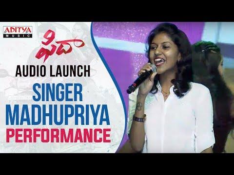 Singer Madhu Priya Vachinde Song Performance At Fidaa Audio Launch | Varun Tej, Sai Pallavi