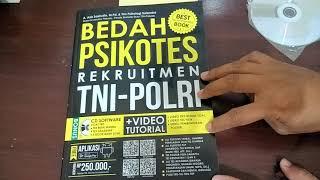 MURAH - BUKU BEDAH PSIKOTES REKRUITMEN TNI POLRI