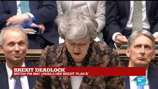 Brexit deadlock: Theresa May unveils her Brexit