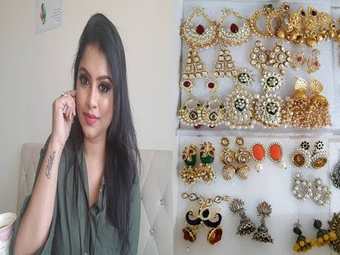 EARRING COLLECTION 2018 - HOW TO ORGANISE EARRINGS