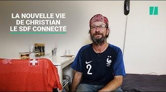 Un mois après son emménagement, on a visité Christian Page, l'ex-SDF aux 30.000 abonnés Twitter